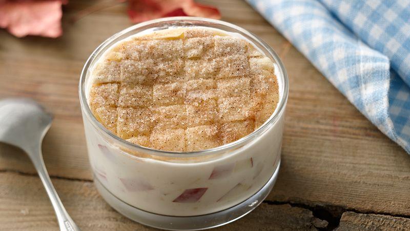 Apple Pie Yogurt Cup