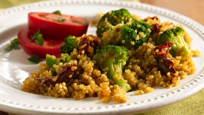 Italian Broccoli and Quinoa Pilaf