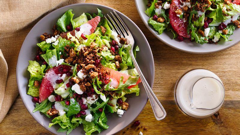 Winter Fruit Salad with Feta