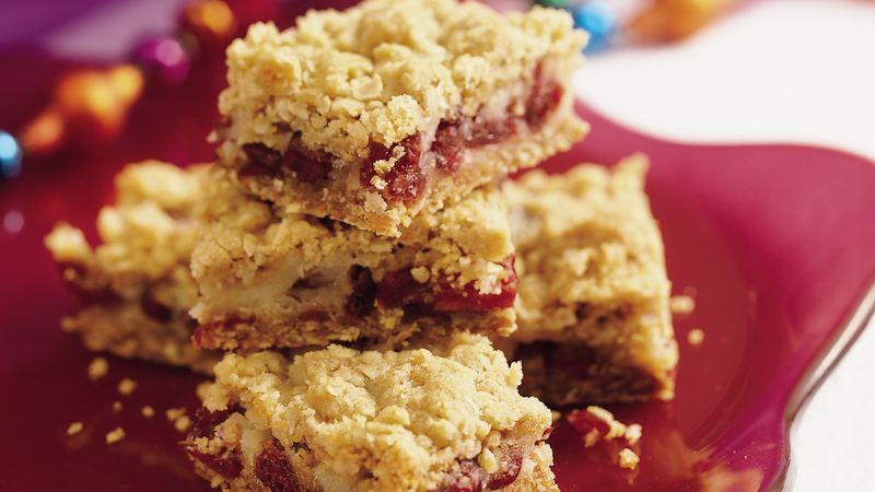 Sour Cream-Cranberry Bars