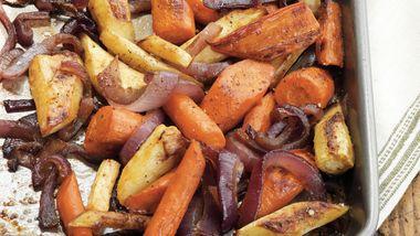 Balsamic-Glazed Root Vegetables
