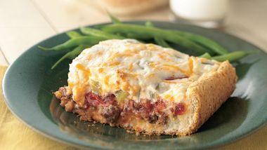 Cheesy Tomato-Beef Bake