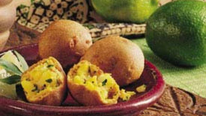 Lime-Flavored Potato Croquettes (Bondas)