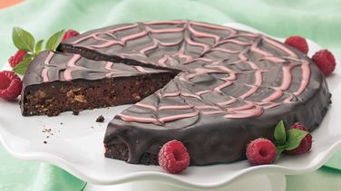 Heavenly Chocolate-Raspberry Torte
