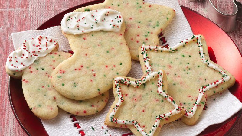 Confetti Christmas Cutout Cookies