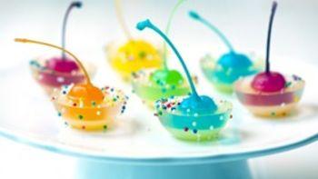 Rainbow Cherry Jigglers