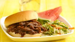 Root Beer Barbecue Beef Sandwiches