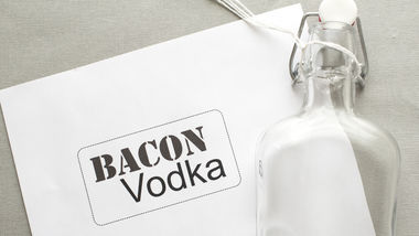 Bacon Infused Vodka