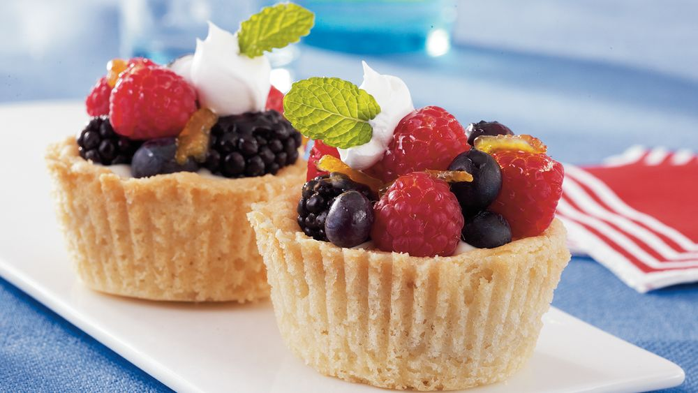 Sugar Cookie Fruit Cups recipe from Pillsbury.com