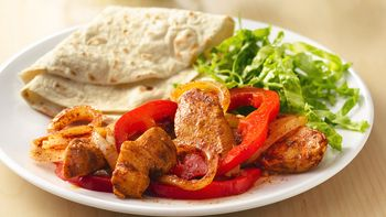 Grilled Chicken Fajita Foil Packs