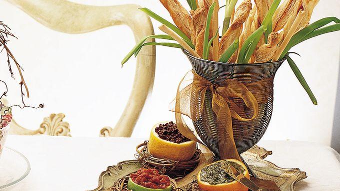 Breadstick Bouquet