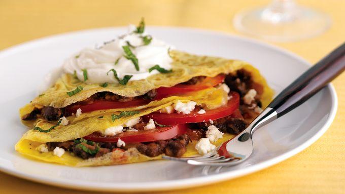 Skinny Southwestern Breakfast Tostadas