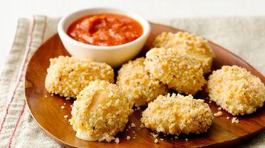 Easy Baked Mozzarella Bites