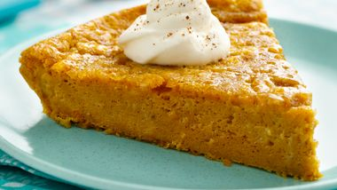 Impossibly Easy Pumpkin Pie
