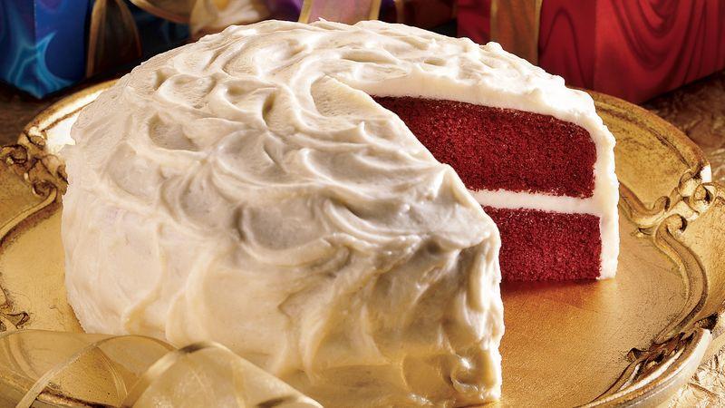 Quick Red Velvet Cake