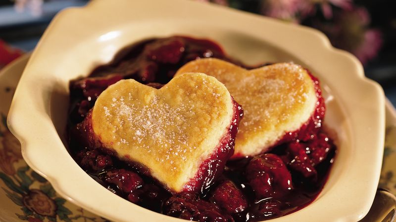 Old-Fashioned Berry Cobbler