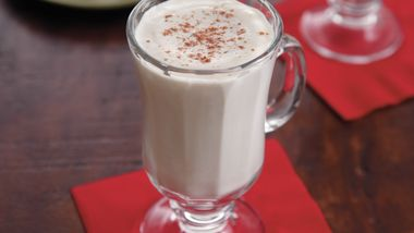 Rich Homemade Eggnog
