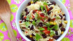 Orzo, Corn and Black Bean Salad