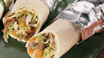 Teriyaki Beef Wraps