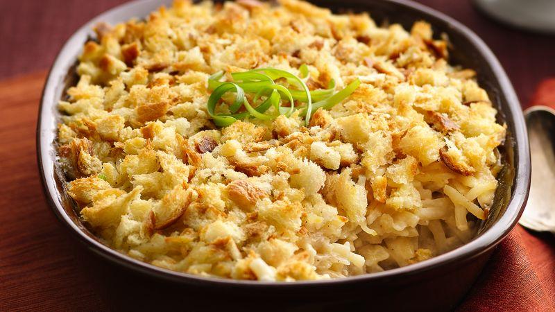 Make-Ahead Potato-Onion Gratin