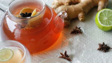 Anise Tea and Ginger