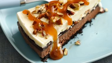 Skinny Turtle Ice Cream Cake