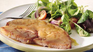 Easy Glazed Ham Steak