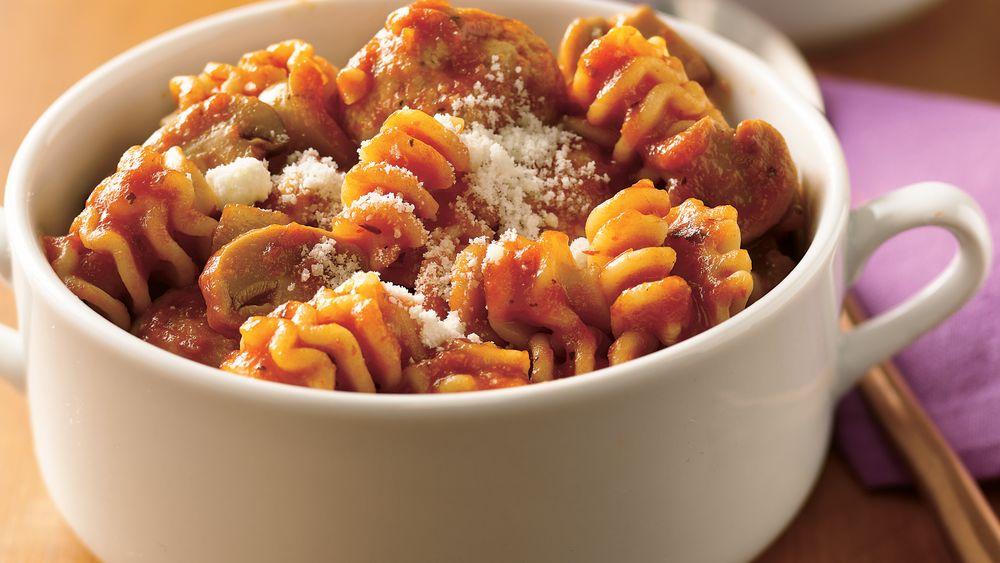 Spaghetti and Meatball Stew