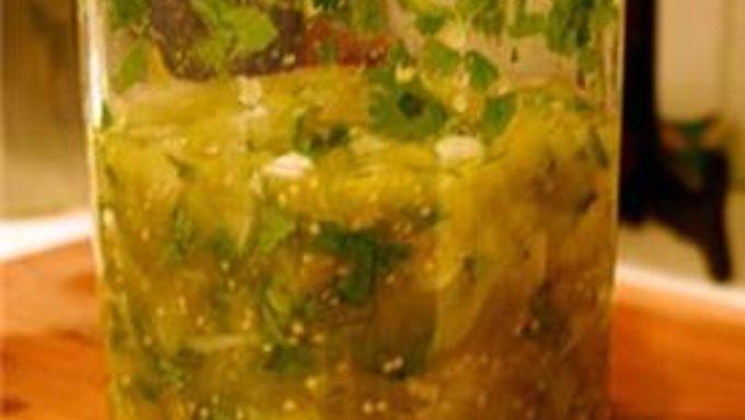 Green-Tomato Salsa