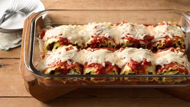 Make-Ahead Meat-Lovers' Lasagna Roll-Ups