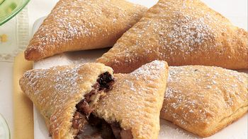 Chocolate-Hazelnut Turnovers