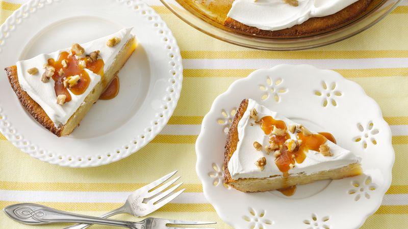 Impossibly Easy Banana Custard Pie recipe from Betty Crocker