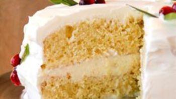 Eggnog Tres Leches Cake