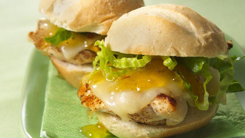 Grilled Spicy Chicken Sandwiches