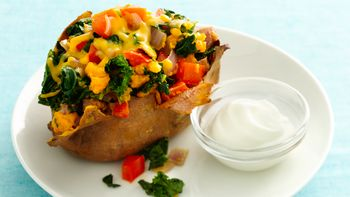Gluten-Free Loaded Sweet Potatoes
