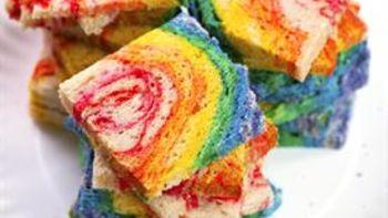 Rainbow Sandwich Loaf