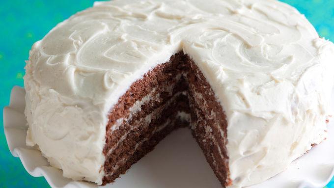 Chocolate-Stout Layer Cake
