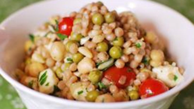 "Israeli Couscous ""Circle Salad"""