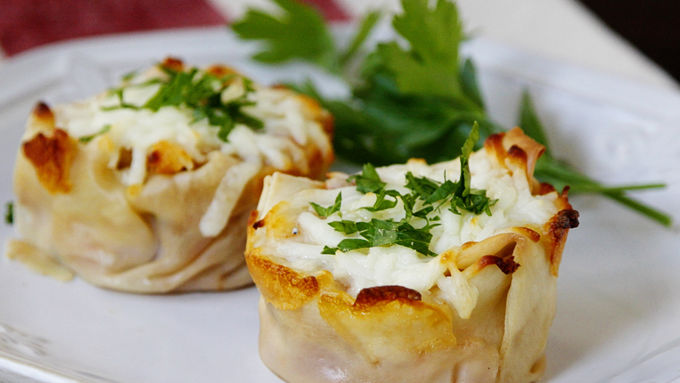 Turkey Lasagna Cups