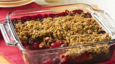 Fresh Berry Crisp
