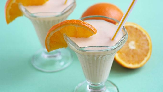 Orange Crème Yogurt Shake