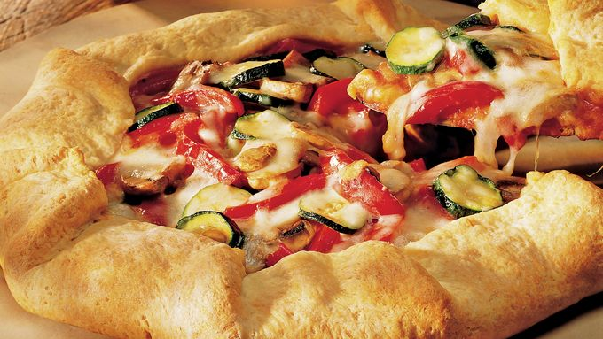 Very Veggie Pizza Pie