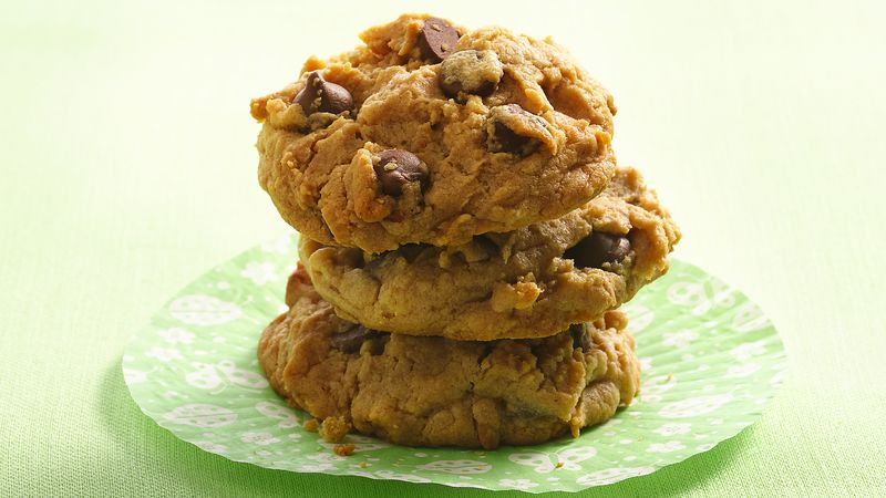 Chocolate Chip and Peanut Butter Cookies