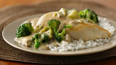 Chicken and Broccoli Skillet