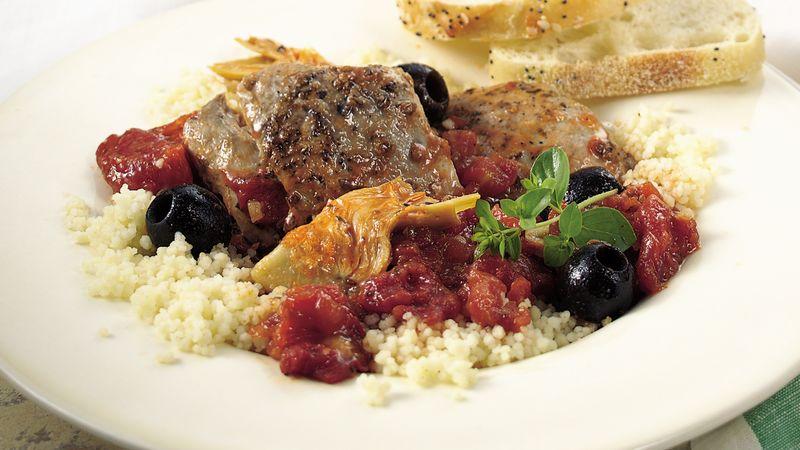 Slow-Cooker Mediterranean Chicken Stew