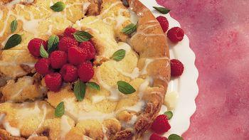 Raspberry-White Chocolate Coffee Cake