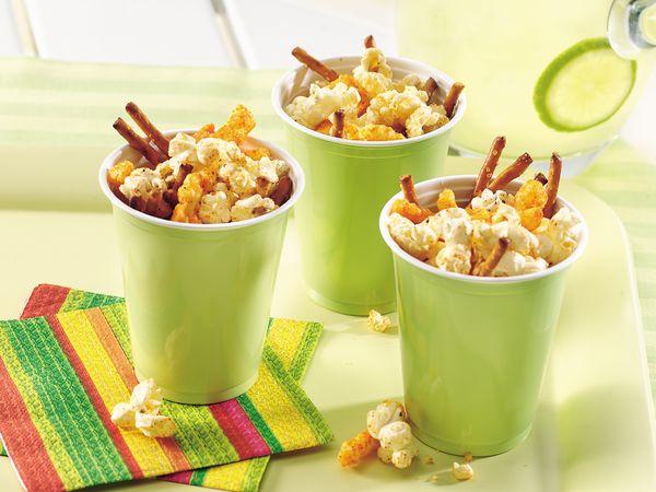 Peppy-Mex Popcorn Snack