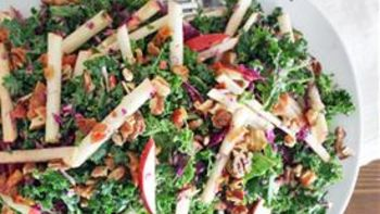 Apple, Kale, and Feta Salad recipe - from Tablespoon!