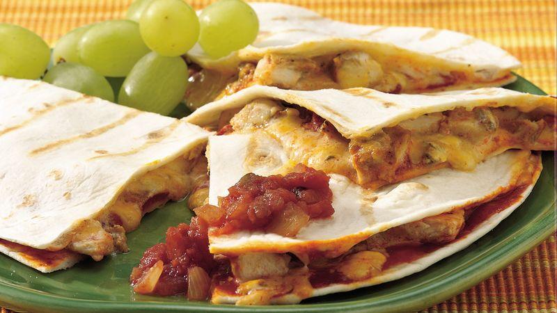 Enchilada Quesadillas