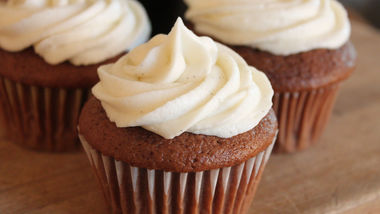 Chocolate Stout Cupcakes with Vanilla Bean Frosting